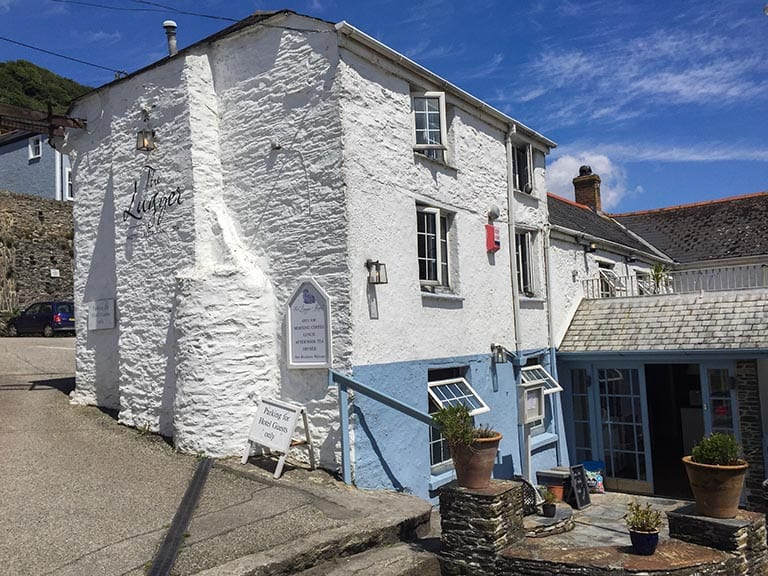 The Lugger Hotel - Portloe, Cornwall