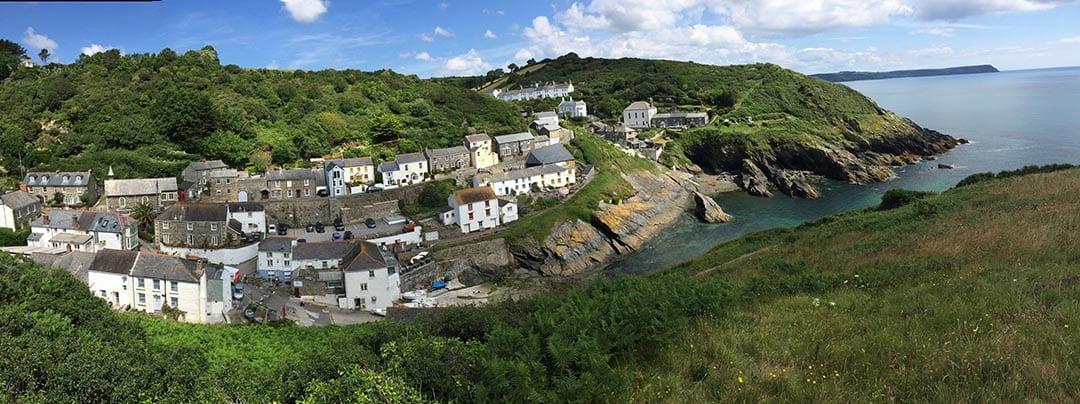 PortLoe Panorama, Cornwall