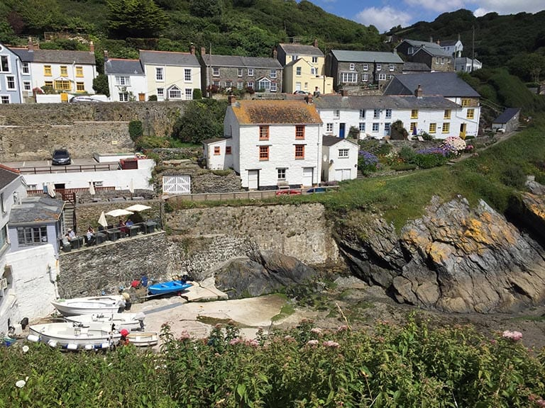 Portloe Harbor, Cornwall