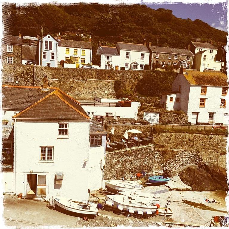 Portloe Houses, Cornwall