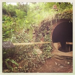 Carnglaze Caverns Cornwall - Fairies house
