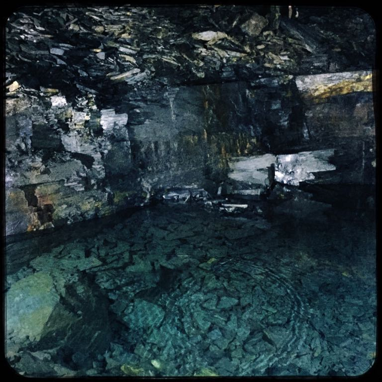 Carnglaze Caverns Cornwall - Baby Pool
